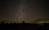 Devils Tower aurora