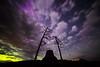 Magenta aurora burst activity beginning to show up.
