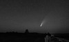 Comet Neowise and Devils Tower Wyoming