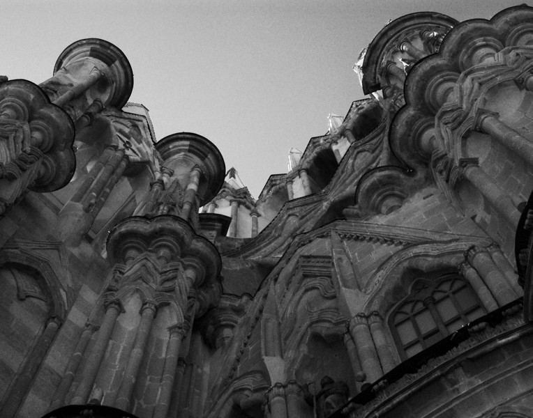 A view of the Parroquia in San Miguel de Allende.