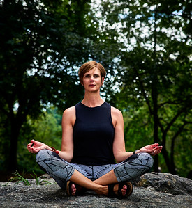 New York, New York - August 21, 2016 -Diana Central Park Yoga and Juliette And Diana headshots