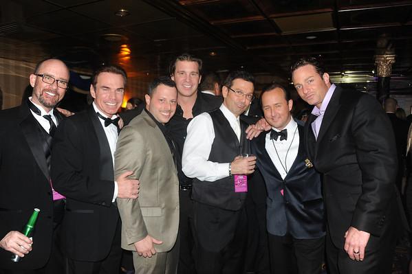 Matt Cord, Chuck Peruto, Sam Weiner, Jimmy Maransky, John Bolaris, John Colabelli and Eric