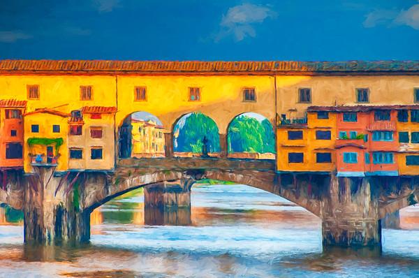 Ponte Vecchio Impression