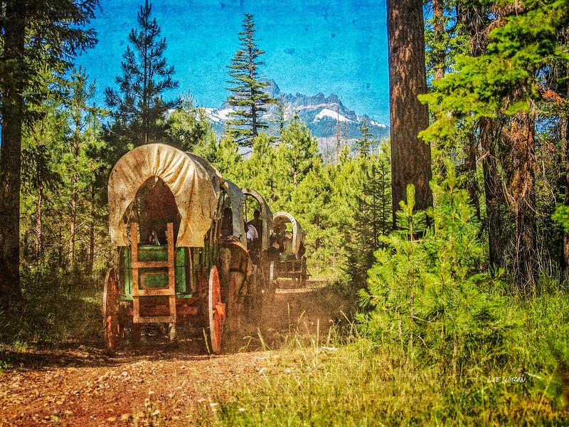Oregon Trail - Borken Top View