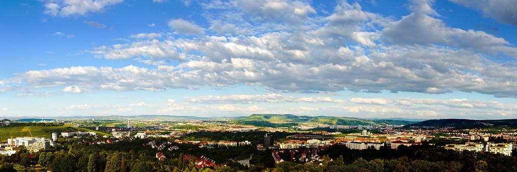 Killesbergturm - Stuttgart Panorama