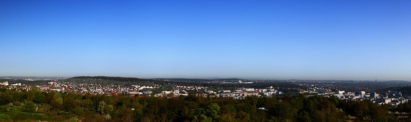 Panoramablick vom Killesbergturm