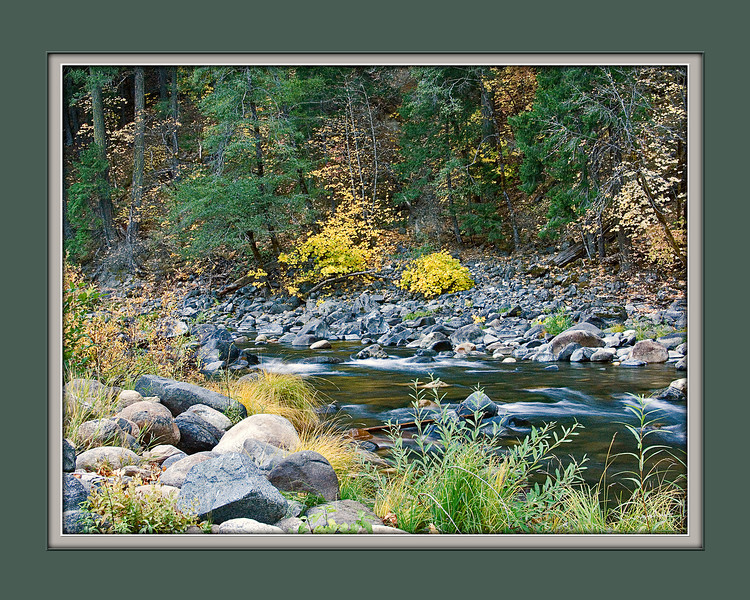 S. Fork of the American River near Kyburz, CA.