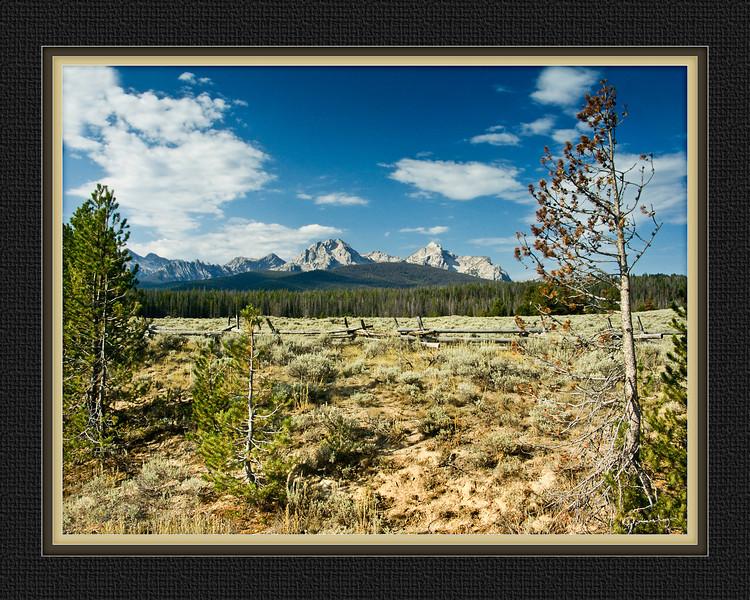 Sawtooth Mountains, Stanley, Idaho