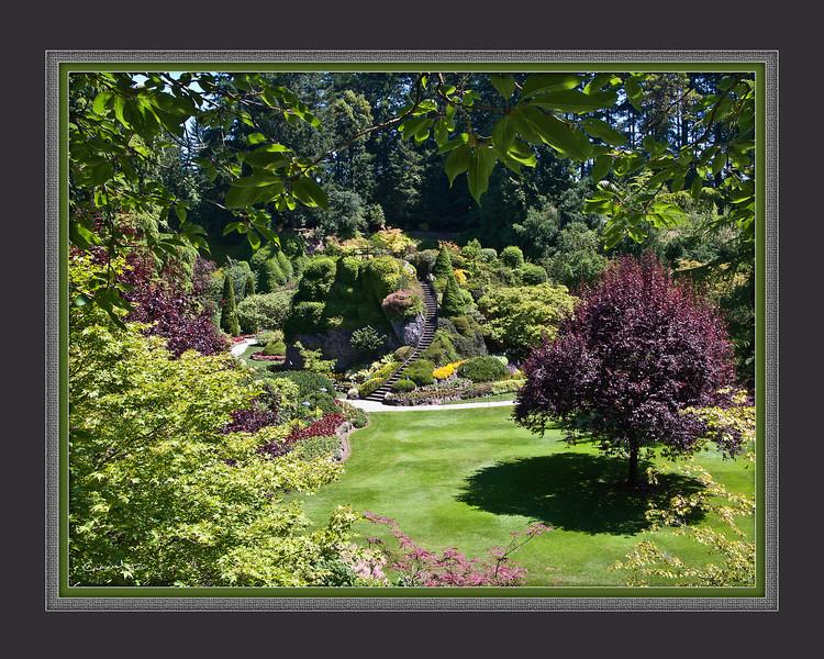 Sunken Garden, Butchart Garden, B.C.