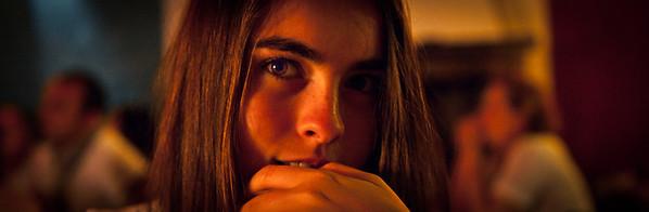The photographer--my sister Melusine Ruspoli