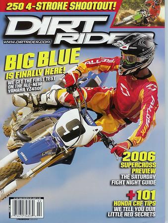 Photos Featured in Dirt Rider Magazine