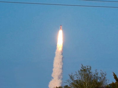 STS-133 Launch-26