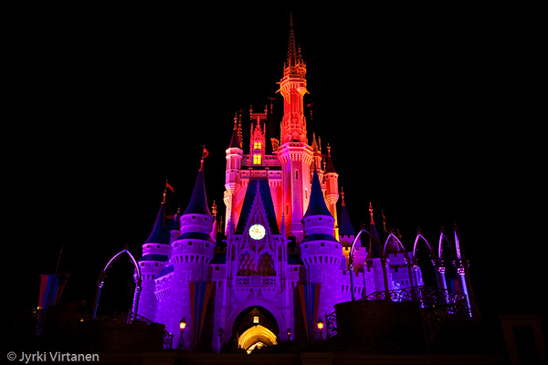 Cinderella Castle II - Disney World, Orlando, FL, USA