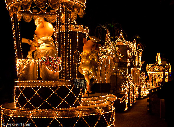 Night Parade - Disney World, Orlando, FL, USA