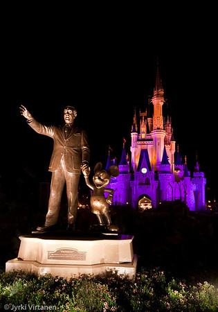 Walt & Mickey - Disney World, Orlando, FL, USA