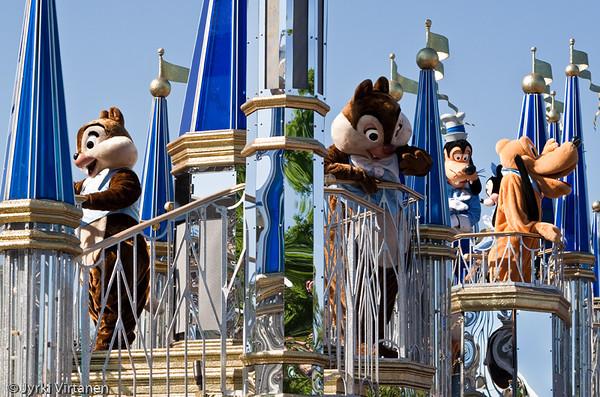 Day Parade II - Disney World, Orlando, FL, USA