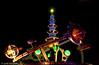 Astro Orbiter by Night - Disney World, Orlando, FL, USA