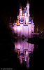 Cinderella Castle Reflection I - Disney World, Orlando, FL, USA