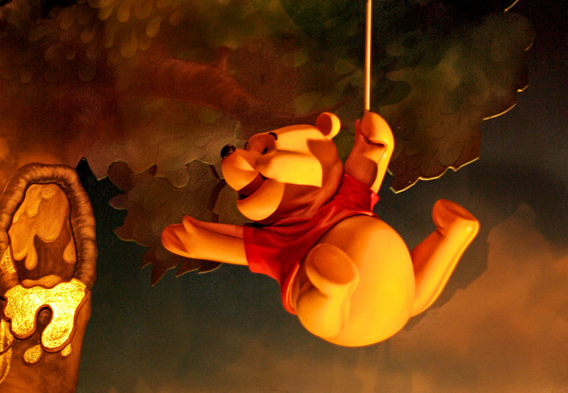 the Adventures of Winnie the Pooh, Magic Kingdom, WDW Orlando, Florida