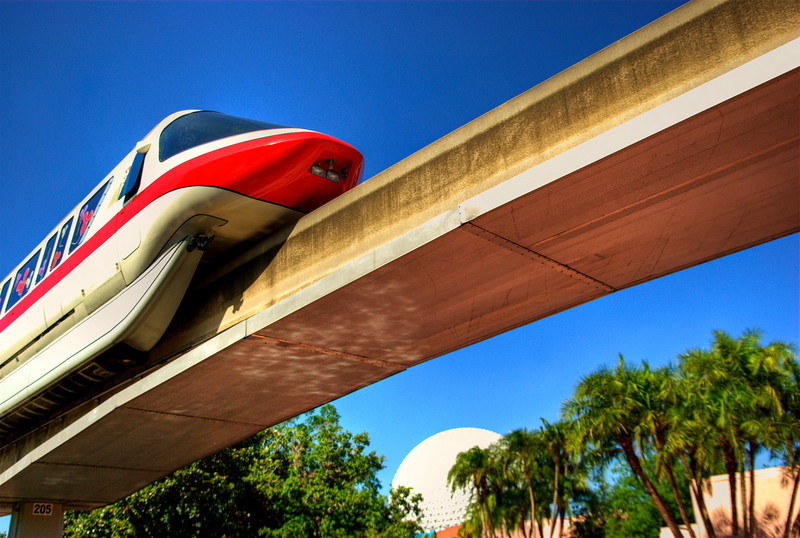 Monorail Red, EPCOT, WDW Orlando Florida