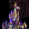 Disney light show