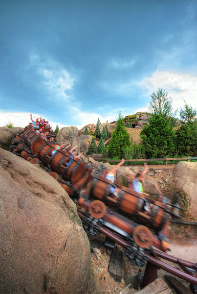 Snow White & the Seven Dwarfs Mine Train<br /> Magic Kingdom, Walt Disney World