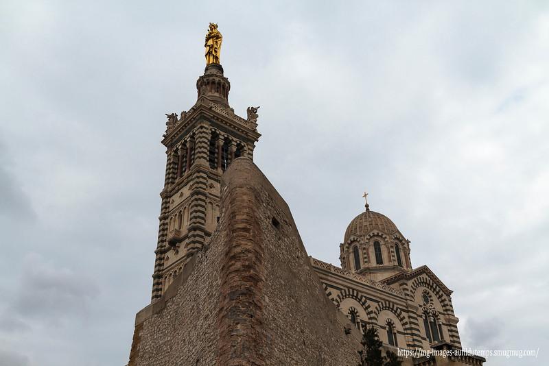 Marseille, Notre Dame de la Garde, f/8, 1/640, iso 200, 22 mm