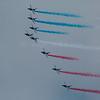 Patrouille de France, f/10, 1/1000, iso 200, 600 mm