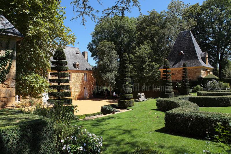 Dordogne, jardins d'Eyrignac, f/8, 1/250, iso 200, 24 mm