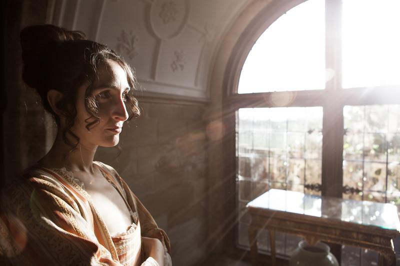 Diva of Handel's Messiah, Berkley Castle, England