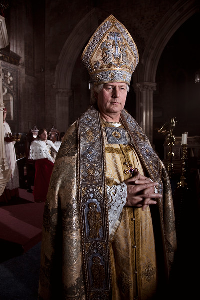 Priestly Priest, Berkeley Castle Chapel, England