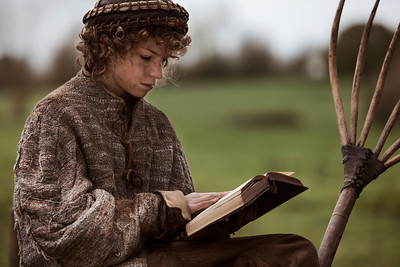 A Boy and His Scriptures, Gloucestershire, UK