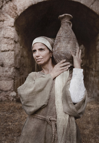 Widow of the Bible, Jerusalem, Israel