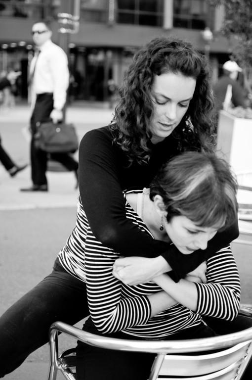 interpretive dancing in Rosslyn