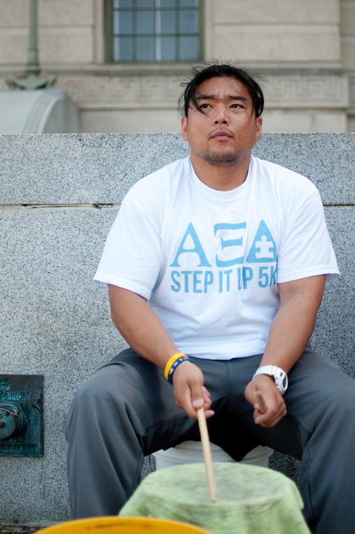 street drummer, DC