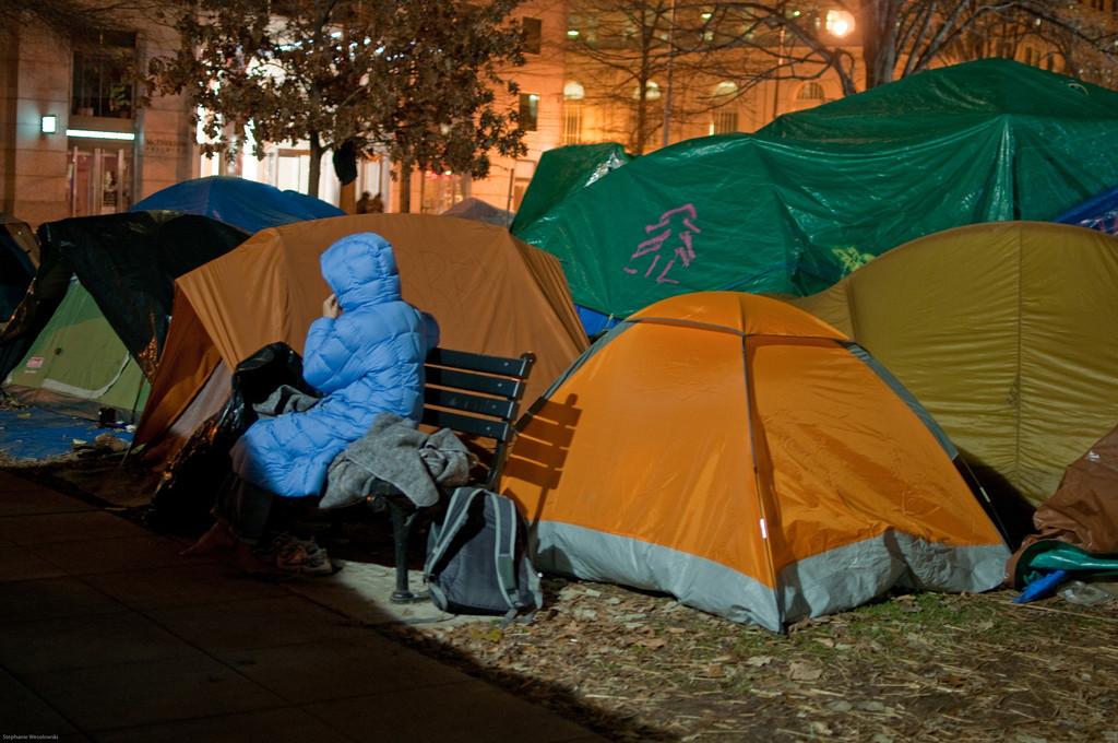 McPherson Square, Occupy