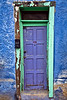 Narrow Blue Door - Tucson