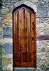 Brown Door - Cahir Castle, Ireland