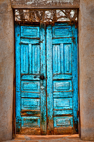 Blue Door - New Mexico