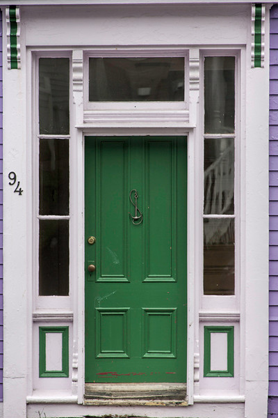 Green Door - Lunenburg, Nova Scotia