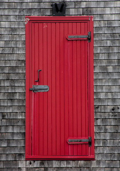 Red Door No Stairs - Nova Scotia
