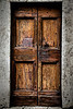 Brown Doors, No Handle - Tuscany, Italy