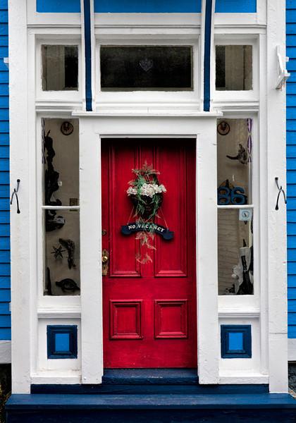 Red Door - Lunenburg, Nova Scotia