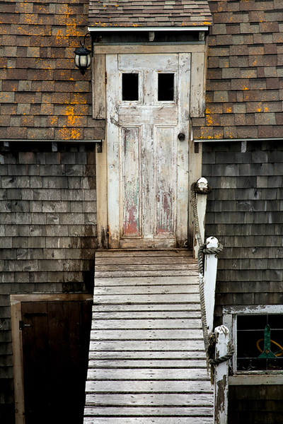 Door & Walkway to Fisherman's Shack - Nova Scotia