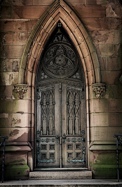 Cathedral of the Assumption Door - Long Island, NY