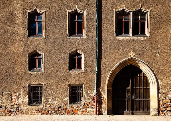 Windows, Door, Meissen, Germany