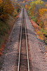 Fall train tracks - Camden State Park