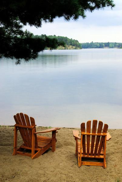 Lake Chairs - Lower Whitefish Lake - Crow Wing Co.