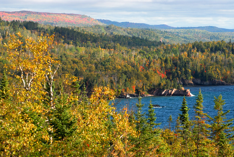 Sawtooth Mountains - North Shore of Lake Superior.