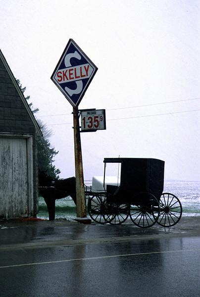 Amish Wagon - Fillmore Co.